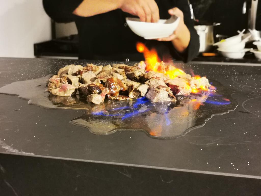 CookingRak, il piano ad induzione integrato nel top